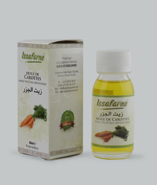 VEGETABLE OIL OF CARROTS 60 ML