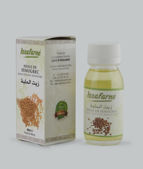 FENUGREEK VEGETABLE OIL 60 ML