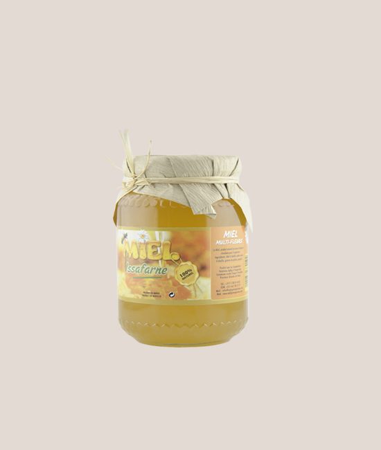 MULTI-FLOWER HONEY 125G