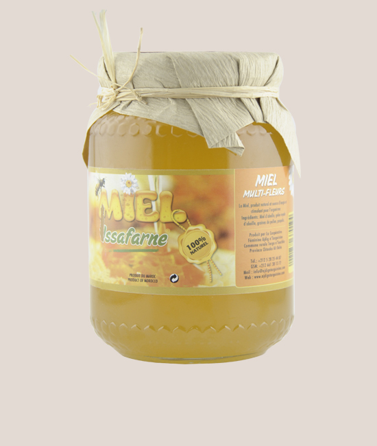 MULTI-FLOWER HONEY 1KG