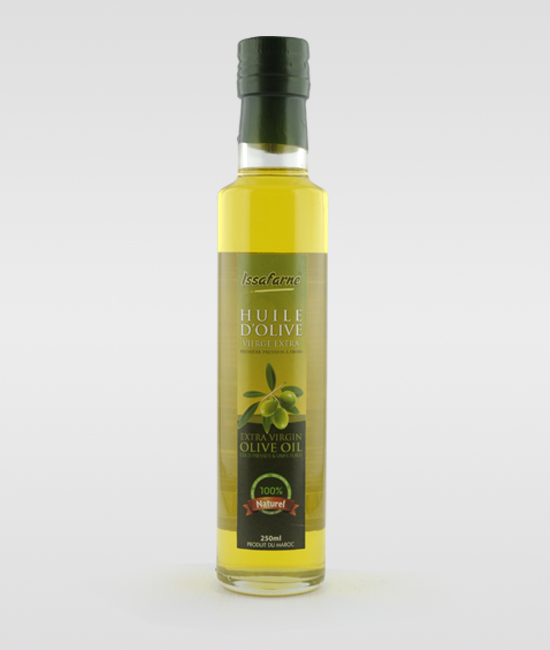 HUILE D'OLIVE VIERGE 250ML