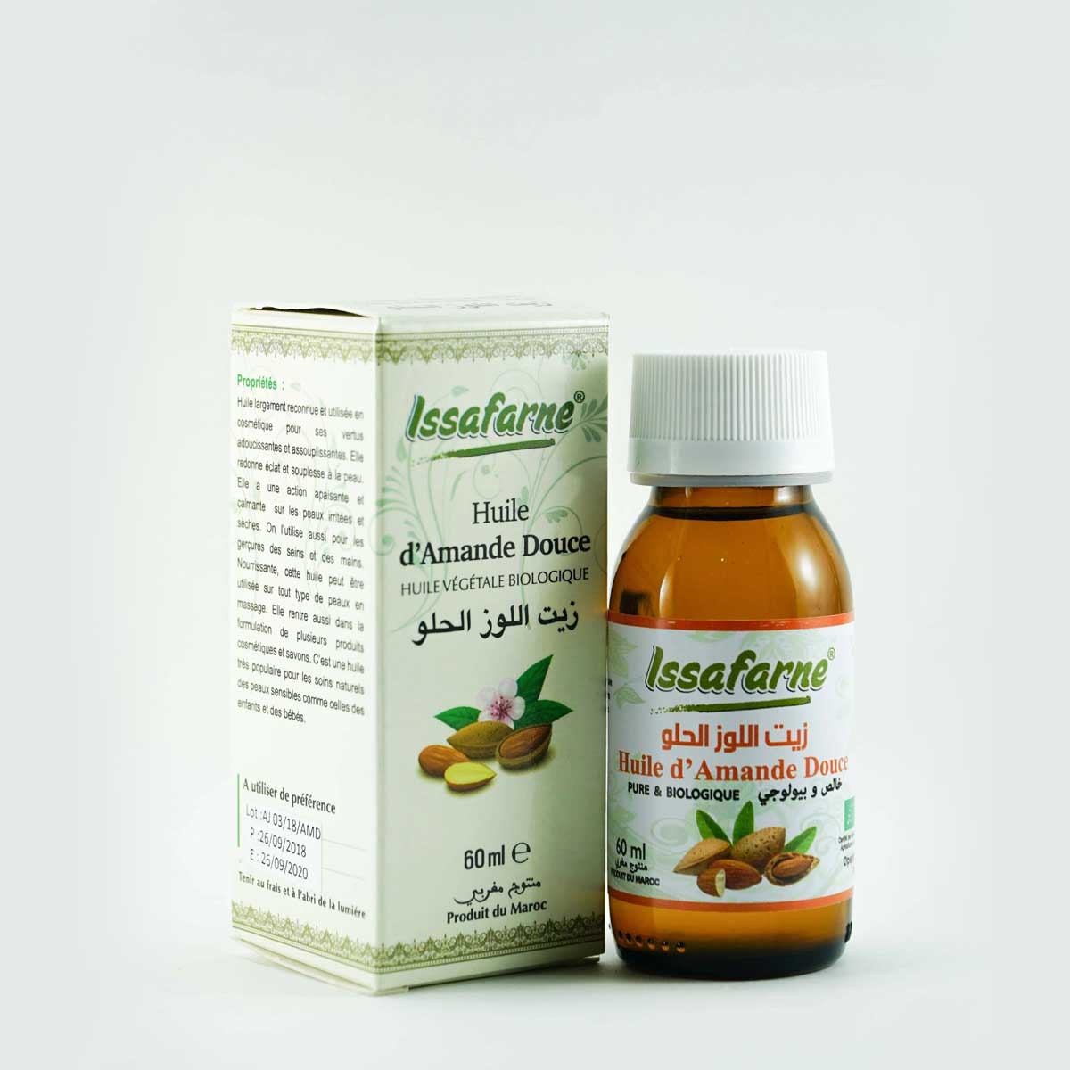 SOFT ALMOND VEGETABLE OIL 60 ML
