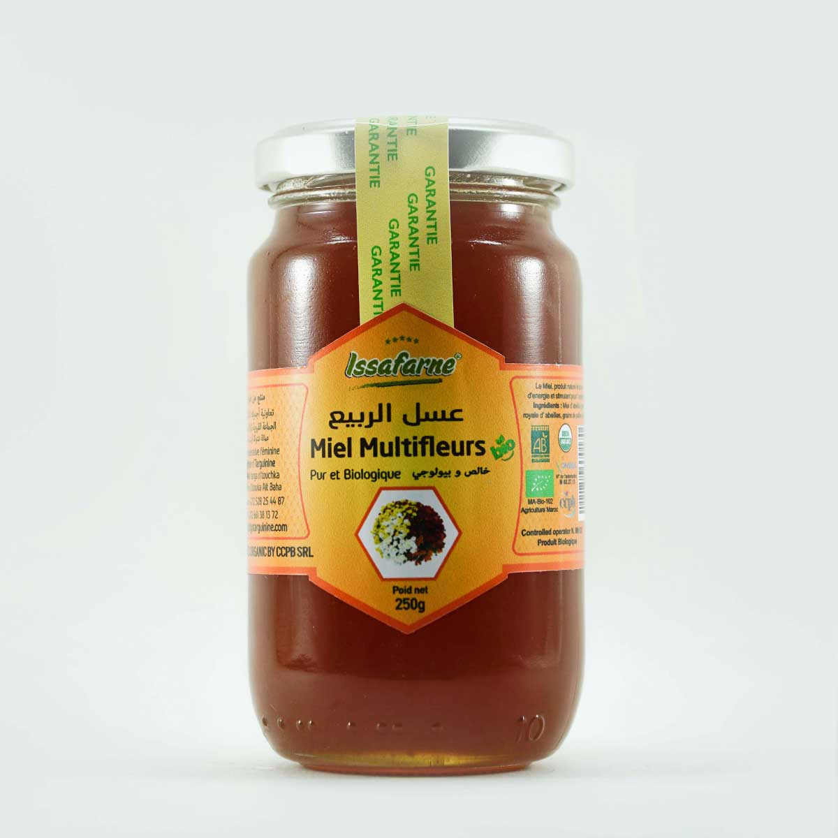 MULTI-FLOWER HONEY 250G